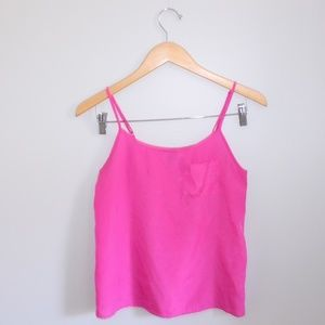 $5 H&M Hot Pink Lightweight Tank Top W Pocket 2